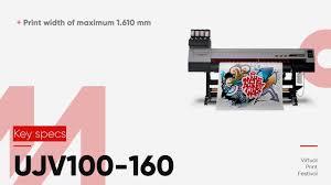 A Quick Look: <b>Mimaki UJV100-160</b> UV Printer - YouTube