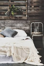 rustic industrial master bedroom warm cozy