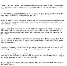 26 jan republic day essay 2016 in hindi english urdu for class 1 2 2 short essay on 26th the republic day of