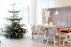 Christmas Dining Room Interior Scandinavian Christmas Dining Room Decorating Ideas With