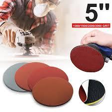 <b>20Pcs</b>/<b>Set</b> 5'' 1000 1500 2000 3000 Grit Sanding Disc Sand Paper ...