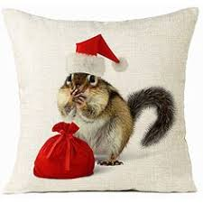 Happy Chipmunk <b>Cushion Covers Christmas</b> Festival Pirate Style ...