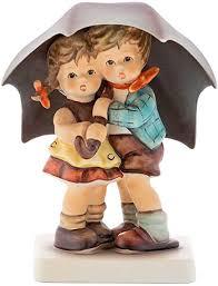 Hummel figurine Sunshower, original MI Hummel ... - Amazon.com