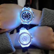 <b>Led Flash Luminous Watch</b> Personality Trends Students Lovers ...