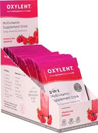 Vitalah <b>Oxylent</b> Daily <b>Multivitamin Drink</b> Sparkling Berries -- 30 ...