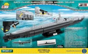 <b>COBI</b> — <b>Конструктор</b> Подводная лодка Ваху (SS-238) 700 ...