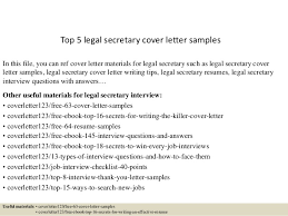 top 5 legal secretary cover letter samples top 5 legal secretary cover letter samples in this secretary cover letter example