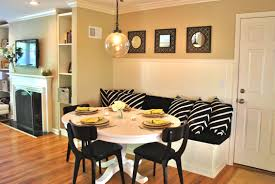 pottery barn style dining table: interior design for small spaces kitchen with dining room breakfast nook white gloss round wooden table
