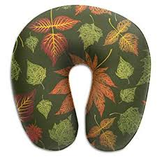 SARA NELL Memory Foam Neck Pillow Thanksgiving ... - Amazon.com