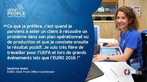 uefa people sandrine goetz euro 2016 front office coordinator uefa people sandrine goetz euro 2016 front office coordinator