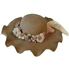 BCDshop_Hat Clearance <b>Women Outdoor</b> Sun Straw <b>Hat</b> Flower