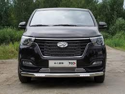 <b>Защита передняя</b> (<b>овальная</b>) TCC HYUNH118 17 для Hyundai H1 ...