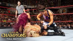 FULL MATCH - Charlotte vs. Sasha Banks vs. Bayley - Raw ...
