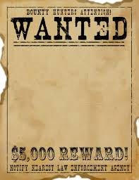 wanted poster template fbi and old west print wanted poster template fbi and old west