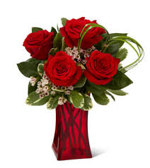 The FTD Rush of Romanc <b>Red Rose</b> Bouquet in Elgin, IL | <b>Floral</b> ...
