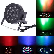 <b>Mini</b> 25W DC12V <b>DMX 512</b> 18 LED Stage lighting effect <b>RGB</b> Par ...