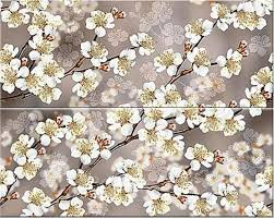 <b>Amati</b> Sakura (из 2-х плиток) 20,1x50,5 <b>панно</b> от <b>Azori</b> купить ...