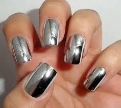 для… | <b>Ногти</b> цвета <b>металлик</b>, Серебристый маникюр, Хромовые ...