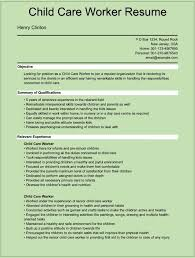 10 resume cover letter for child care worker writing resume child care resume cover letter child care worker resume henry clinton