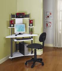 modern small desk with hutch chic office desk hutch