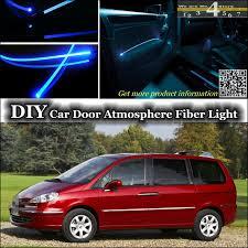 interior ambient light tuning atmosphere fiber optic band lights for peugeot 807 806 eurovans inside door ambient interior lighting