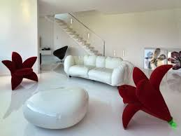 bedroom design red contemporary wood: beautiful white black wood cool design living room furniture red luxury modern chairs sofa leather flower