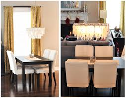 Rectangular Dining Room Lighting Dining Room Stunning Image Of Dining Room Decoration Using Rustic