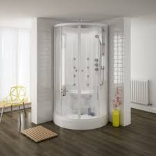 cabinets uk cabis: quadrant hydro massage shower cabin enclosure hmc profile large image view