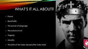 shakespeare   richard iii   exam revision as english literature drama