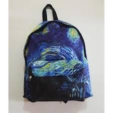 Vincent <b>Van Gogh</b> Starry Night Back to School <b>Drawstring bag</b> in ...