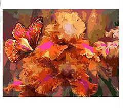 QIANDONG1 Pictures Painting by Numbers <b>DIY Digital Oil</b> Painting ...