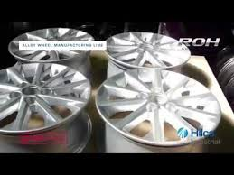 Complete <b>Alloy</b> Wheel Manufacturing Line <b>For Sale</b> - ROH ...