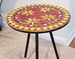 <b>Mosaic side table</b> | Etsy