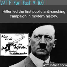 "A Nazi anti-smoking ad titled ""The chain-smoker""... via Relatably.com"