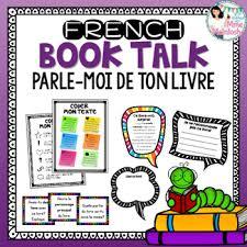 French BOOK TALK / <b>Parle</b>-<b>moi de</b> ton livre! by Mme McIntosh | TpT