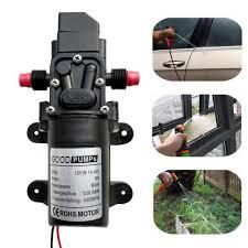 Motor <b>High</b> Pressure <b>DC 12v 45w</b> 0142 Diaphragm Water Self ...