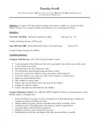 First Job Resume Samples For Highschool Students With No Experience