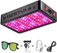 BESTVA 1000W LED Grow Light Full Spectrum Dual ... - Amazon.com