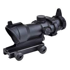 SEIGNEER Tactical <b>Optics</b> Riflescope <b>ACOG</b> Type <b>1x32</b> Red/Green ...