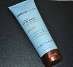 Natural Beauty Find - Mineral Fusion <b>Sunstone</b> Mineral <b>Body Lotion</b> ...