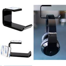 Sticker <b>Acrylic Headphone Bracket</b> Hanger Under Hook Earphone ...