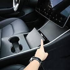 Motrobe Tesla Model 3 Artificial Leather Center <b>Console Wrap</b> ...