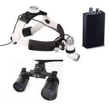High Quality New Aluminum Frame <b>Medical Loupes</b> 2.5X <b>Binocular</b> ...