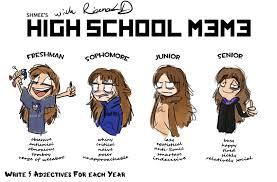 RianaLD's High School Meme by ArtByRiana on DeviantArt via Relatably.com