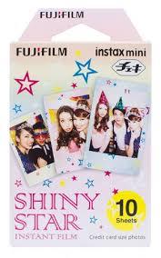 <b>FujiFilm Colorfilm</b> Instax Mini <b>Shiny Star</b> (10x1) | Accessories for ...