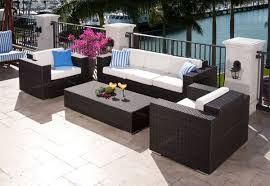 source outdoor king resin wicker patio funiture set add wishlist source outdoor manhattan double