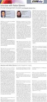 penis enlargement surgery interview dr rados djinovic european society of sexual medicine today magazine interviews dr rados djinovic about penis enlargement