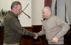 Генерал-полковник Віктор Муженко та Провідник ДУК дійшли ...