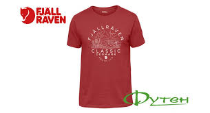 Купить <b>Футболка Fjallraven CLASSIC</b> DK <b>T</b>-<b>SHIRT</b> lava со ...