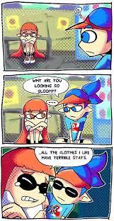 Splatoon Comics - Splatoons   Splatoon   Pinterest   Comic, So ... via Relatably.com